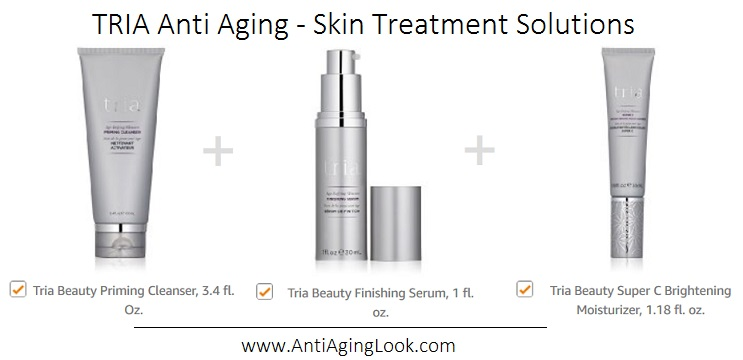 TRIA laser post treatment creams and serums