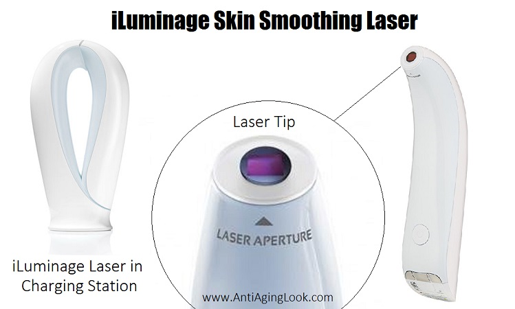 Iluminage smooth skin age defying laser device